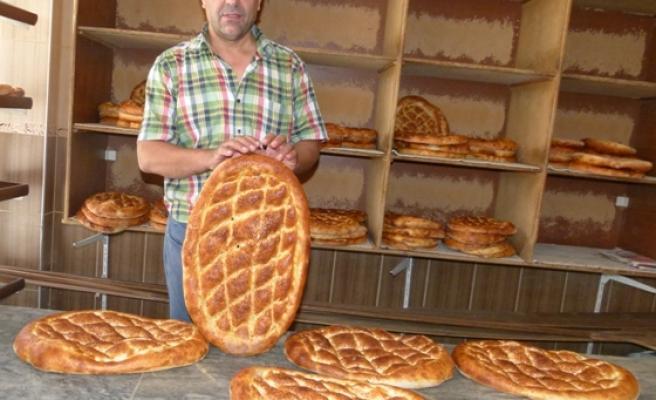 Bafra'da Ramazan Pidesine Zam Yok