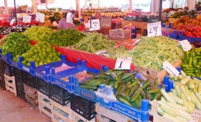 Büyük Pazar Yerinde Meyve ve Sebze Fiyatları