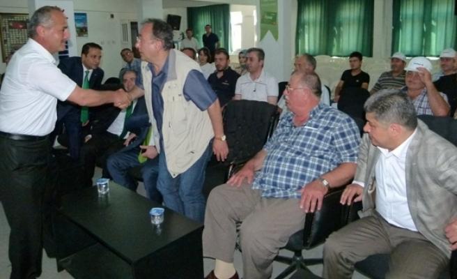 Denizbank Tarım Sohbetleri Bafra'da Yapıldı