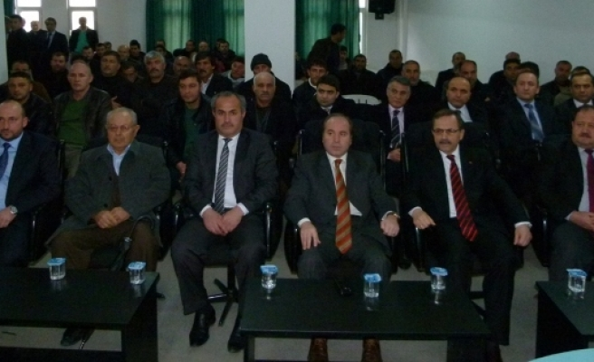 Kırmızı Et Üreticileri Mali Kongresi Yapıldı