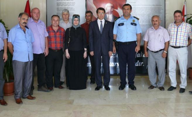 MHP'den Emniyet Müdürü Yiğit'e 'Hayırlı Olsun' Ziyareti