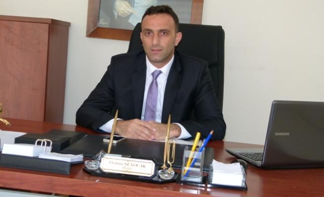 Osman Şenocak,yeni görevine başladı