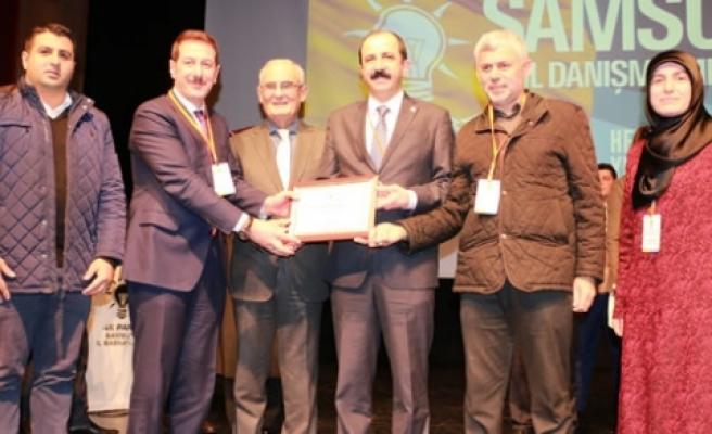 AK Parti Samsun 73. İl Danışma Meclisi Toplantısı gerçekleştirildi.
