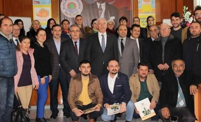 Alaçam'da Girişimci Kursiyerler Belgelerini Aldı