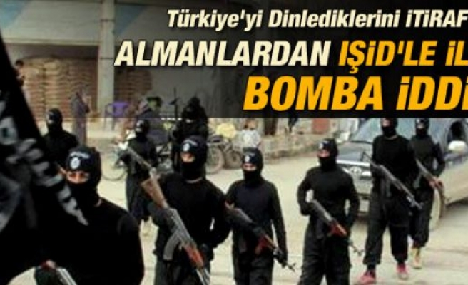 Almanlar'dan işid ile ilgili Türkiye'yi karıştıracak iddia