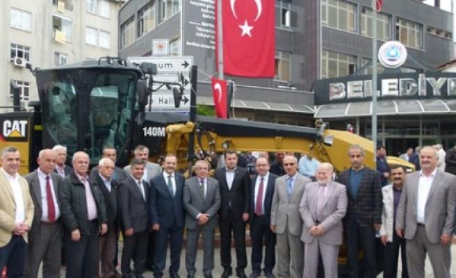 Bafra Belediyesi Araç Filosu Güçlendirildi