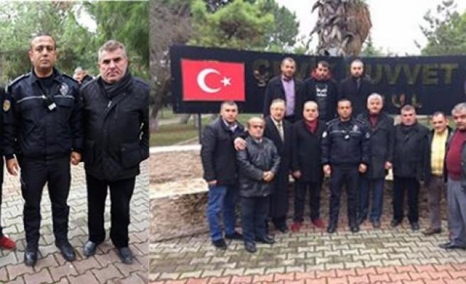 BAFRA DERNEKLER FEDERASYONU  BADEF'TEN  POLİSLERİMİZE ANLAMLI ZİYARET