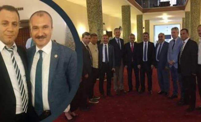 Bafra Düzköy Derneği Gazi Mecliste