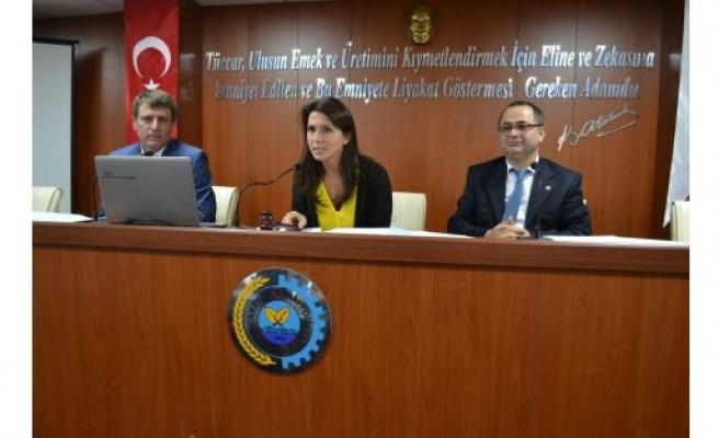 Bafra TSO Meclis Başkanlığına Nur AYDINER MERAL Seçildi