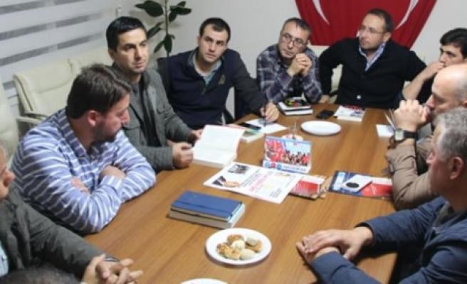 """BAFRA TÜRK EĞİTİM-SEN """"OKUDUĞUMUZU ANLATIYORUZ"""" ETKİNLİĞİ"""