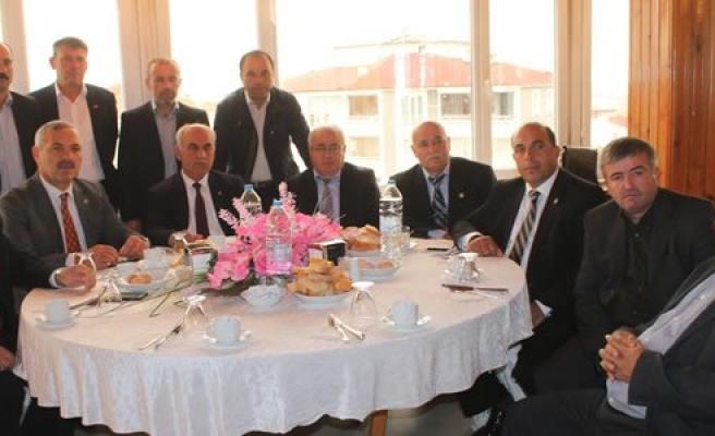 Bafra Ziraat Odası Çalışmaları Hakkında Bilgilendirme Toplantısı Yaptı