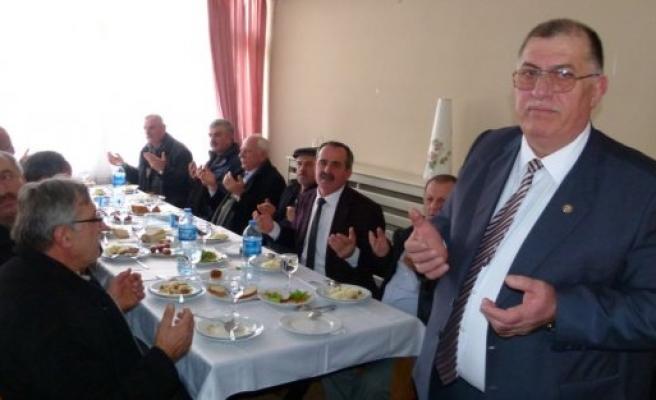 Bafra Ziraat Odası Tanışma Toplantısı Düzenledi