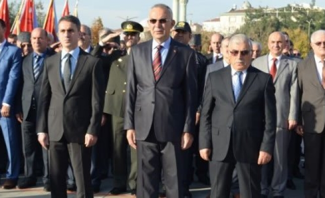 Bafra'da Atatürk'ün ölümünün 78. Yılında Anıldı