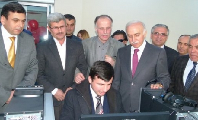 Bafra'da Engellilere Yönelik Türkiye'de 15.Sesli Kütüphane Açıldı