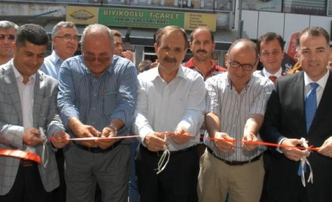 Bafra'da, Ziraat Bankasının Beşyol Şubesi Hizmete Açıldı