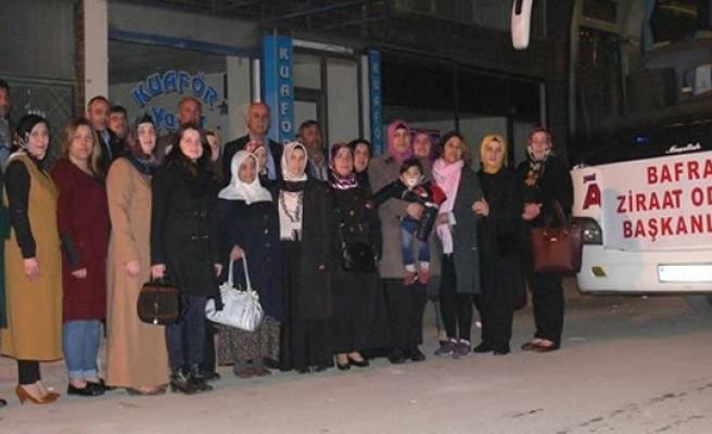 Bafralı Kadın Çiftçiler Ankara'da