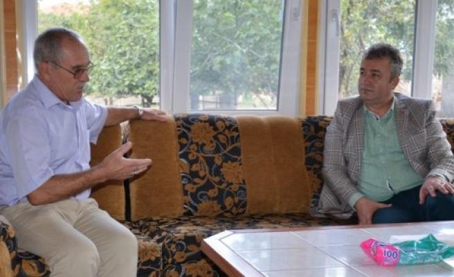 Başkan Topaloğlu Hacı Ziyaretinde