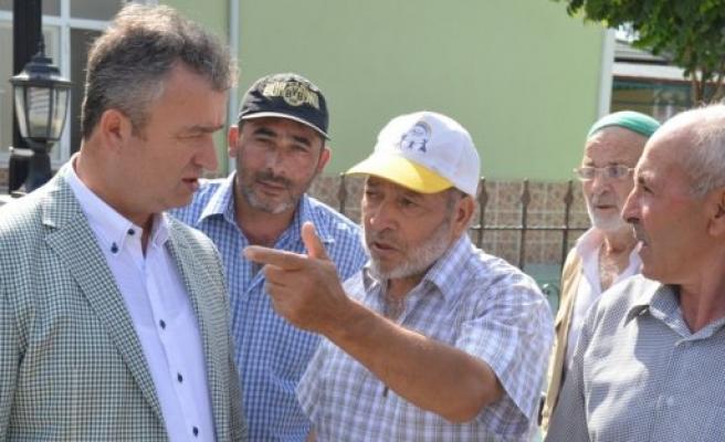 Başkan Topaloğlu, Yörükler Mahallesinde Halkla Buluştu