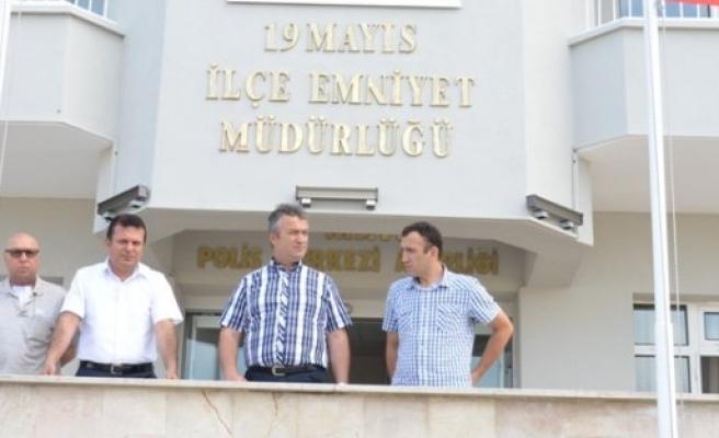 Başkan Topaloğlu'ndan Emniyet Müdürü'ne Ziyaret