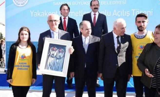 BAŞKAN YILMAZ'DAN YAKAKENT'E ARITMA TESİSİ MÜJDESİ
