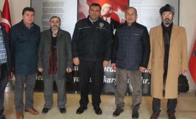 BBP Bafra İlçe Teşkilatından Emniyet Müdürlüğüne Ziyaret