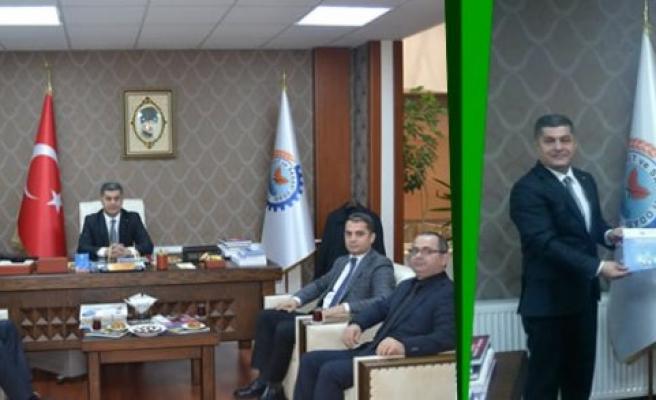 Canik Belediyesi Başkan Yardımcısı Usta'dan Göksel BAŞAR'a Ziyaret