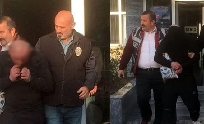 Çarşafla Hastaneye Girmeye Çalışırken Gözaltına Alındı