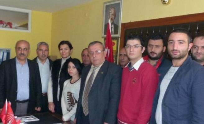 CHP SAMSUN GENÇLİK KOLLARI'NDAN, BAFRA İLÇE TEŞKİLATINA ZİYARET