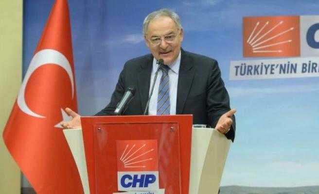 CHP Sözcüsü Haluk Koç, Seslendi