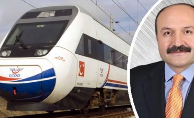 Erhan Usta ; Samsun-Ankara arasındaki Hızlı Tren İhale sürecine geçildi