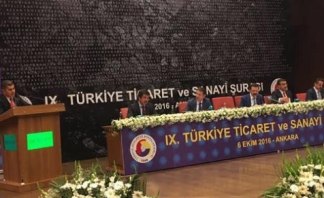 Göksel BAŞAR TOBB 9. Türkiye Ticaret ve Sanayi Şurasında Samsun Sorunlarını Dile Getirdi AD