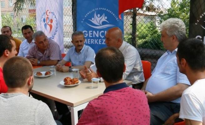 İLKADIM GENÇLİK MERKEZİ ''HAYALLERİME DOKUN'' PROJESİ