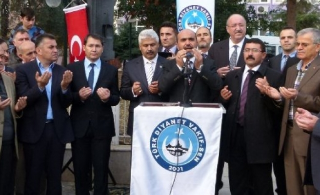 İSRAİL'İN MESCİD-İ AKSA SALDIRILARI BAFRA'DA KINANDI