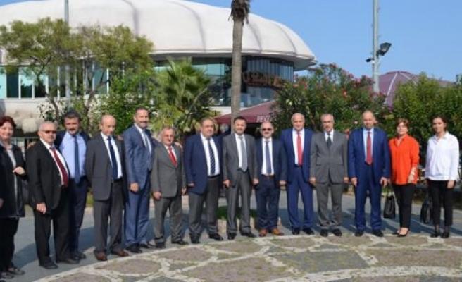 Karadeniz Bölgesi 5'inci Su ve Kanalizasyon İdareleri Koordinasyon Toplantısı, Samsun'da yapıldı.