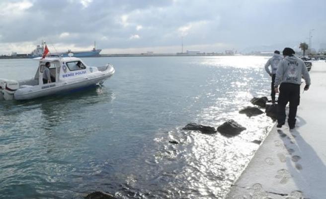 Kayıp İhbarı Yapılan Kadın Denizde Arandı