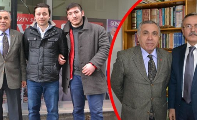 KAYMAKAM ARSLAN'DAN ALTINOVA GAZETESİNE ZİYARET