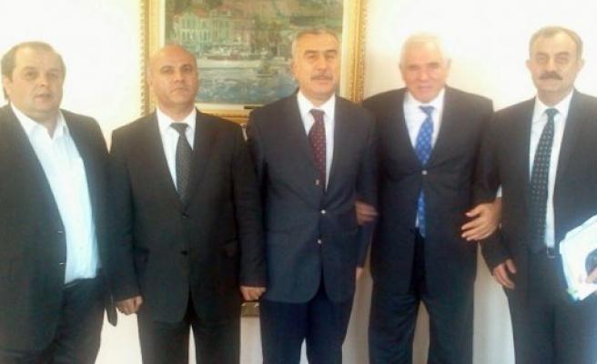 Ladik'in talepleri Ankara'da görüşüldü