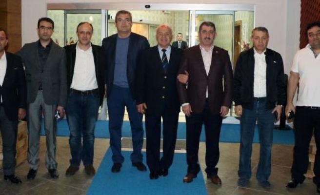 Milletvekili Köktaş, Boks Federasyon Başkanları'nı ağırladı