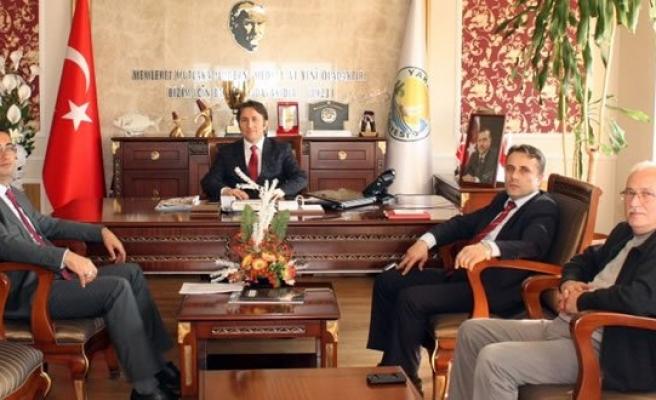 Milli Eğitim Müdürlerinden Başkan KIYMA'ya Ziyaret