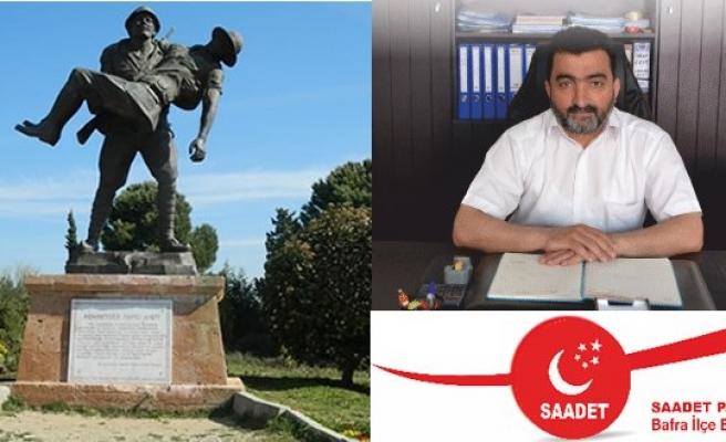 """Mustafa Öcal'dan """"18 Mart Çanakkale Zaferi"""" Mesajı"""