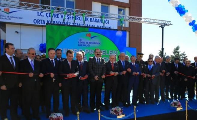 Orta Karadeniz Temiz Hava Merkezi Açıldı