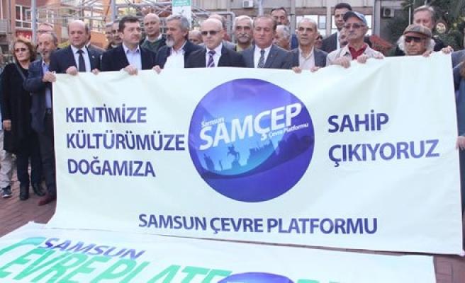 Samsun Çevre Platformu'dan Basın Açıklaması