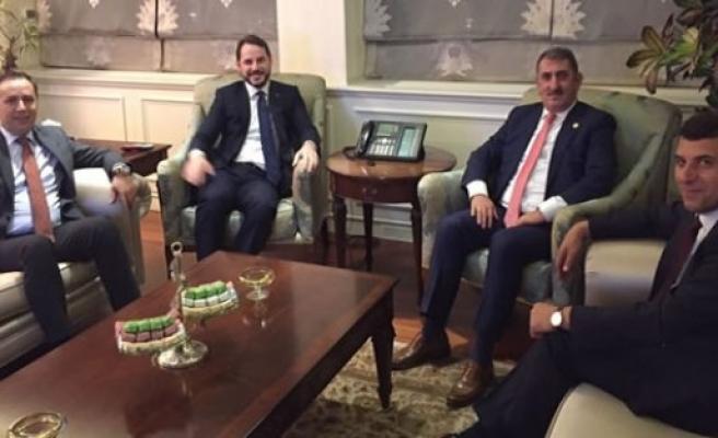 Samsun Milletvekili Köktaş'tan Bakan Albayrak'a Ziyaret