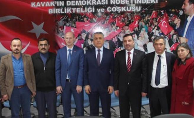 Samsun OMÜ Rektöründen Sarıcaoğlu'na Ziyaret