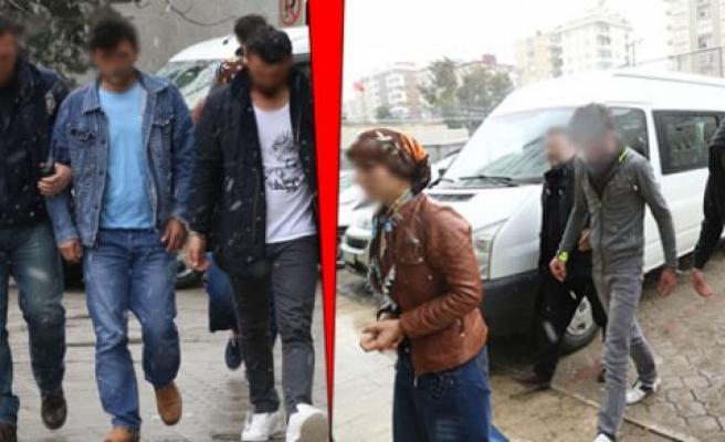 Samsun'da Darp İddiası; 5 Gözaltı