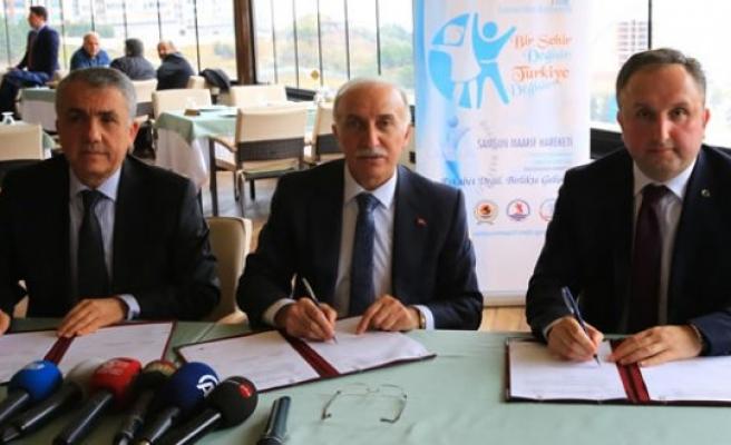 Samsun'da Eğitimde İş Birliği Protokolü İmzalandı
