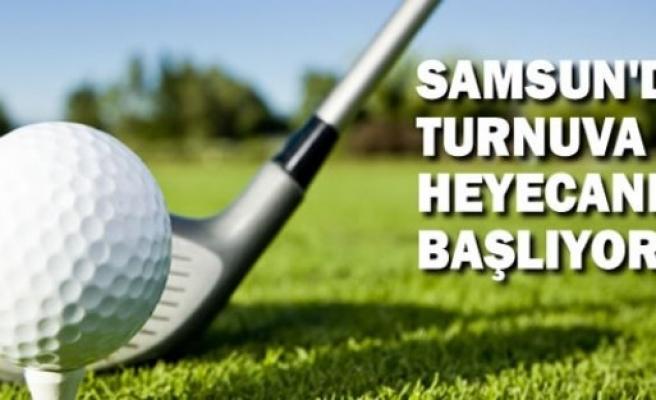 Samsun'da Golf Turnuvası Heyecanı