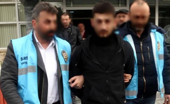 Samsun'da Hırsızlıktan Aranan Kişi Yakalandı