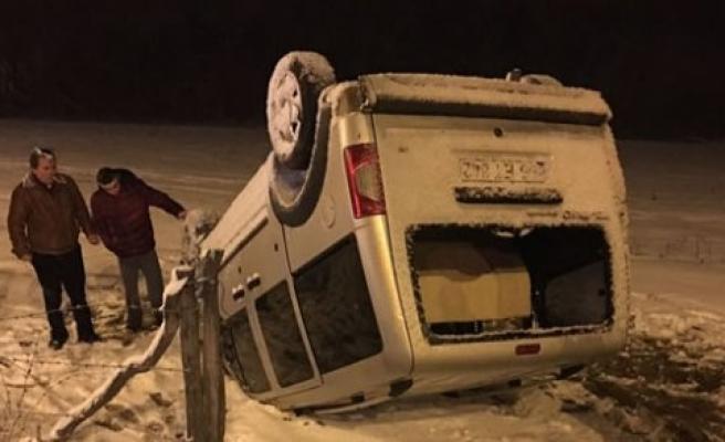 Samsun'da trafik kazaları: 6 yaralı