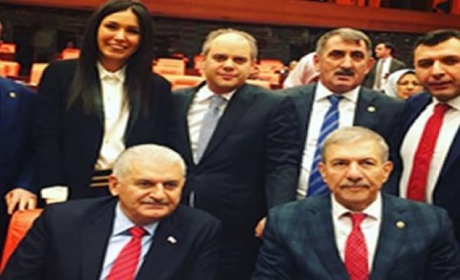 Samsunlu Milletvekillerin Başbakanla tarihi fotoğrafı
